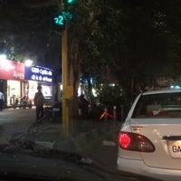 Photo taken at Khodadad Circle by Vjpawar P. on 3/8/2015