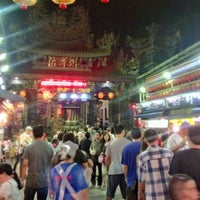 Photo taken at Miaokou Night Market by Phillip C. on 9/22/2012