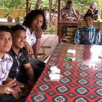 Photo taken at Cafe Terapung by Kamarullah G. on 8/18/2013