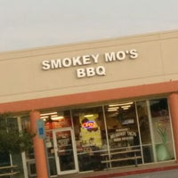 Photo taken at Smokey Mo's BBQ by WPBacon on 4/20/2014