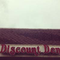 Photo taken at Discount Den by JD G. on 5/5/2013