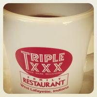 Photo taken at Triple XXX Family Restaurant by JD G. on 2/24/2013