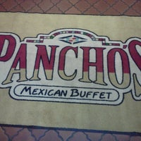 Photo taken at Pancho's Mexican Buffet by Crystal M. on 12/14/2012