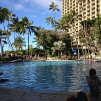 Photo taken at Super Pool and Keiki Pool (Children's Pool) by Bill H. on 1/9/2013
