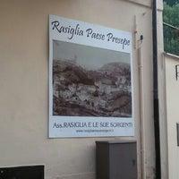 Photo taken at Rasiglia by Isabella C. on 8/12/2015
