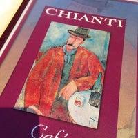 Photo taken at Chianti Café & Restaurant by Steve B. on 8/31/2014