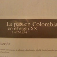 Photo taken at Museo Nacional Guillermo Valencia by Jose P. on 1/24/2014