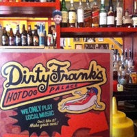 Photo taken at Dirty Frank's Hot Dog Palace by Summer S. on 4/4/2013