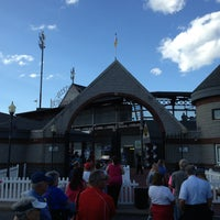 Photo taken at Williamsport Crosscutters by Greg R. on 8/23/2013
