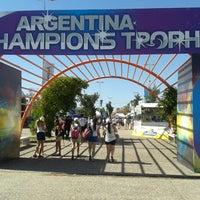 Photo taken at Estadio Hockey by Federico W. on 12/7/2014