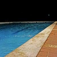 Photo taken at Club de natación El Delfín Rosado by Orlando L. on 6/18/2014