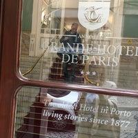 Photo taken at Grande Hotel de Paris by Zdena P. on 6/1/2017