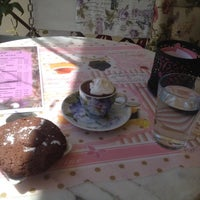 "Photo taken at Čokolaterija ""Flora Desserts"" by Nikolay B. on 9/8/2014"