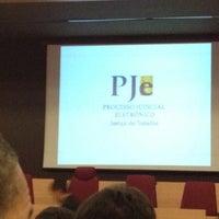 Photo taken at Tribunal Regional do Trabalho da 8ª Região by Kleber Jorge on 10/8/2012