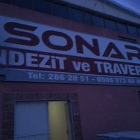 Photo taken at Sonar Andezit ve Traverten by Ahmet S. on 3/25/2014
