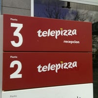 Photo taken at Telepizza HQ by Alexander F. on 4/3/2014