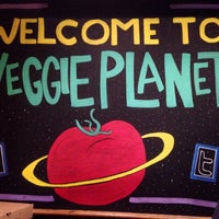 Photo taken at Veggie Planet by Judy on 8/15/2014