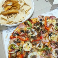 Photo taken at Yellow Cab Pizza Co. by Jenny Clara I. on 9/2/2015