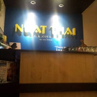 Photo taken at Nuat Thai by April Joy A. on 1/13/2015