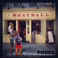 Photo taken at The Meatball Shop by PHUDE-nyc on 9/28/2013