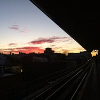 Photo taken at MTA Subway - Astoria Blvd/Hoyt Ave (N/W) by Christian M. on 1/19/2013