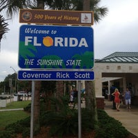 Photo taken at Florida Welcome Center (I-95) by AwayIsHome on 6/28/2013