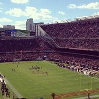 Photo taken at Soldier Field by Brittany A. on 10/6/2013
