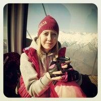 Photo taken at Трасса для лыжного двоеборья by Anna L. on 3/23/2014