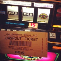 Photo taken at Evangeline Downs Casino by Jamie A. on 6/8/2013