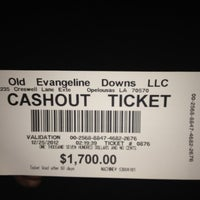 Photo taken at Evangeline Downs Casino by Jamie A. on 12/25/2012