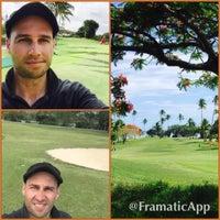 Photo taken at Shangri-La Golf Course by Peri B. on 12/13/2014