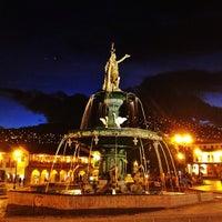 Foto tomada en Plaza de Armas de Cusco por Gabriel L. el 5/20/2013