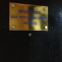 Photo taken at Estudio Jurídico Jofre&Urbano by Kamila A. on 2/14/2013