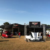Photo taken at Corvette Racing @ 12 Hours of Sebring by Cecelia S. on 3/15/2013