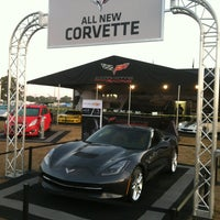 Photo taken at Corvette Racing @ 12 Hours of Sebring by Cecelia S. on 3/16/2013