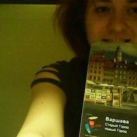 Photo taken at Kanonia Hostel Warsaw by Svitlana P. on 5/3/2014