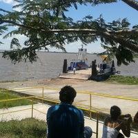 Photo taken at Puerto de Pilar - Aduana by Victor M. on 2/2/2014