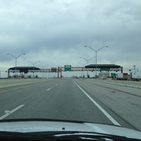 Photo taken at Toll Plaza by Johnny G on 4/6/2013