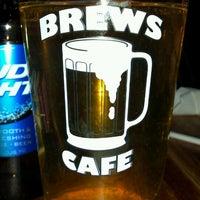 Photo taken at Brews Cafe by Angi I. on 4/13/2013