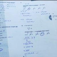 Photo taken at Özel Aşama Anadolu Lisesi by Melissa on 11/5/2015