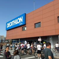 Photo taken at Decathlon by Sanaz A. on 5/11/2014