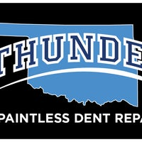 Photo taken at Thunder Dent Repair by Clint T. on 1/16/2014