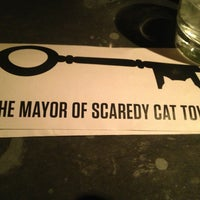 Photo taken at The Mayor of Scaredy Cat Town by Alexandra L. on 3/11/2013