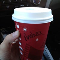 Photo taken at Starbucks by Andrea B. on 12/20/2012