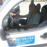 Photo taken at Muşkara Travel Agency by Volkan S. on 6/24/2014