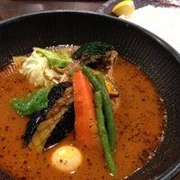 Photo taken at Soup Curry lavi エスタ(ESTA)店 by こねこのこ on 11/24/2012