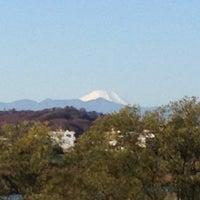 Photo taken at 多摩川 猪方排水樋門 by chrono Q. on 12/16/2012
