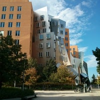 Photo taken at MIT Stata Center (Building 32) by Alex R. on 10/2/2013