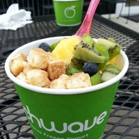 Photo taken at Peachwave by Nicole G. on 5/21/2013