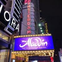Foto tomada en Aladdin @ New Amsterdam Theatre por Captain L. el 2/24/2018